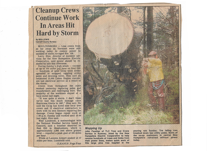 Newspaper Clipping #3 - Cleanup Crews